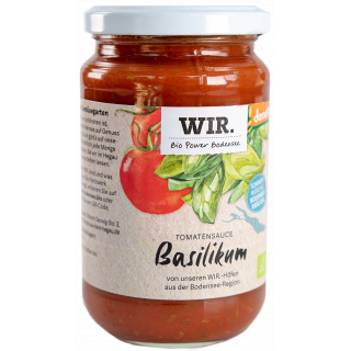 Tomatensauce mit Basilikum WIR