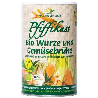 Pfiffikuss Streuwürze & Gemüsebrühe